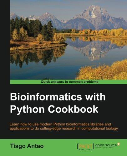Bioinformatics with Python Cookbook por Tiago Antao