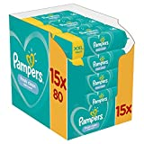 Pampers Fresh Clean 1200 Lingettes Bébé 15 Paquets