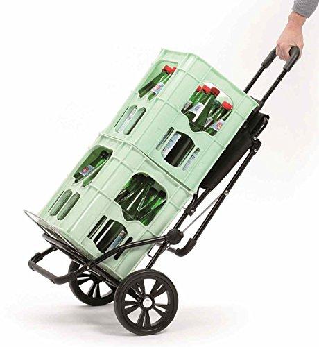Einkaufstrolley für Senioren – Andersen Komfort Shopper Grün - 4
