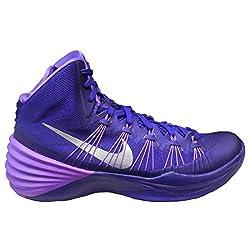 Nike Hyperdunk 2013 TB Womens Basketball Shoe (15, Court Purple/Metallic Silver)