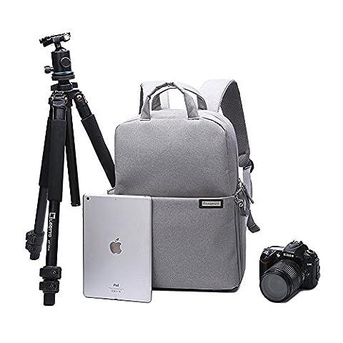 Multifunktions Mode Dslr Slr Kameratasche Tablet Laptop Tasche Wasserdichte mit Regenschutz,langlebige Kamera Rucksack für Sony Canon Nikon Olympus Slr / Dslr Kameras, Objektiv und Zubehör