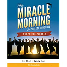 The Miracle Morning for College Students Companion Planner (English Edition)