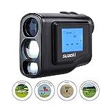 Suaoki 600m Golf Entfernungsmesser Laser Entfernungsmesser mit Handheld LCD Display, Golf Range Finder für Golf und Jagd, 6- fache Vergrößerung Rangefinder