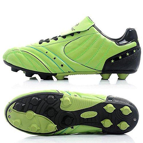 Mr. LQ - Adulti combattimento scarpe e formazione scarpe calcio giovanile green / black