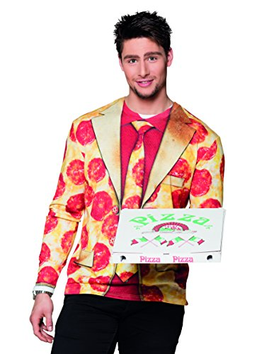 (Fotorealistisches Shirt Pizza Peperoni)