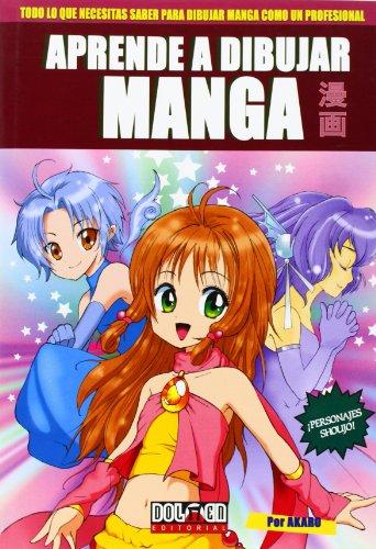 Aprende a dibujar manga 1 Cover Image