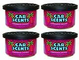 Californian Car Scents F352 Autolufterfrischer, Coronado Cherry-Duft, 4 Stück