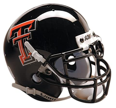 NCAA Texas Tech Collectible Mini Football Helmet