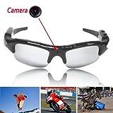 Boriyuan 720X 480Pixel Video DVR Video Camera Occhiali da ciclismo Spy Occhiali da sole occhiali da sole con custodia per fotocamera con telecomando, suono e video recorder.