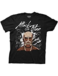 Attack on Titan Dark Titan Group Adult Black T-Shirt