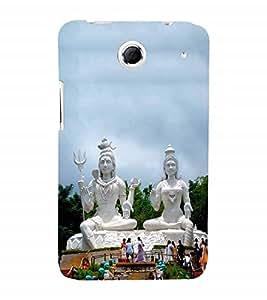 Fuson Designer Back Case Cover for Lenovo S880 (Nataraja Sadashiva Vishveshwara Shankara Nilakantha )
