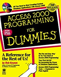 Access 2000 Programming For Dummies