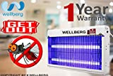 #8: Wellberg 35W SLIM Flying Insect Killer With [1 YEAR ] UV Tube Insect Catcher Bug Zapper Repellent Machine With HIGH VOLTAGE CURRENT RECTIFIER ELECTRIC SYSTEM