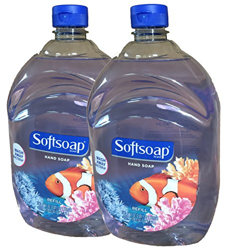softsoap-liquid-hand-soap-aquarium-series-64-ounce-refill-bottle-pack-of-2-by-softsoap
