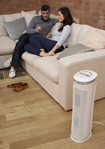 HoMedics HEPA Air Purifier – At Home Purifier Fan, Alleviates Allergy Infected Air, Eliminates up to 99% of Airborne…