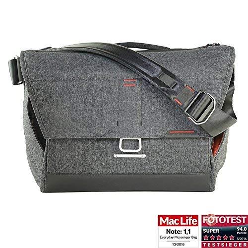 69b1911d8c8d8 Peak Design Everyday Messenger Bag 15 V2 Charcoal - Fototasche für 1  DSLR-Kamera