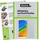 dipos I 2X Schutzfolie matt passend für Xiaomi Redmi 5 Plus Folie Bildschirmschutzfolie