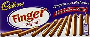 Cadbury Finger L'Original Chocolat au lait le Paquet de 138g