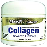 Mason Vitamins Collagen Beauty Cream 100% Pure Collagen Pear Scent, 2 Oz by Mason Natural