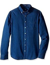 GANT Men's Slim Indigo Shirt