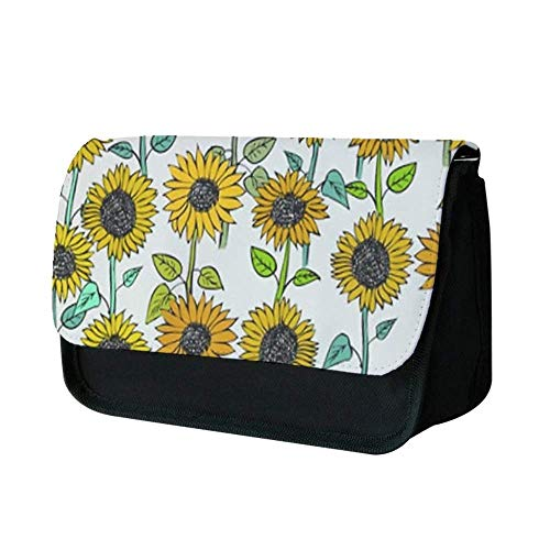Painted Sunflowers Pencil Case -