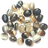 Chezel™ Natural Sulemani Hakik Stone (1 Pc) Sulemani Agate Aqeeq Stone Akik Stone 5 To 6 Cts Untreated Sacred Stone