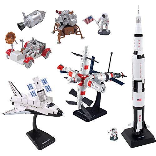 NewRay 20425SS - Space Abenteuer Set mit Zubehör