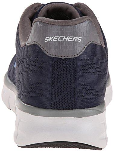 Skechers SynergyFine-Tune Herren Sneakers Blau (NVGY)