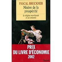 Misère de la prospérité (essai français)