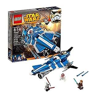 Lego - 75087 - Star Wars - Jeu de Construction - Anakin's Custom Jedi Starfighter