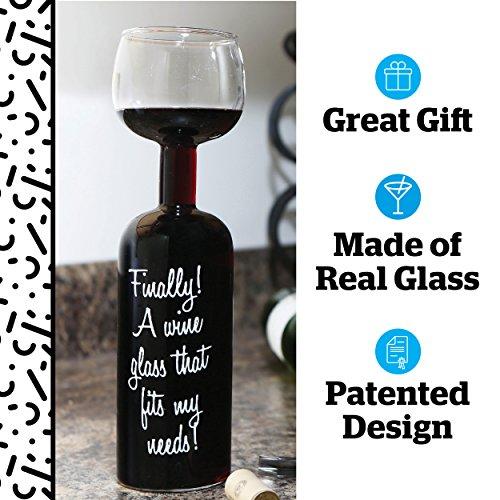 – BigMouth Inc. Vetro Bottiglia di Vino Finale prezzo
