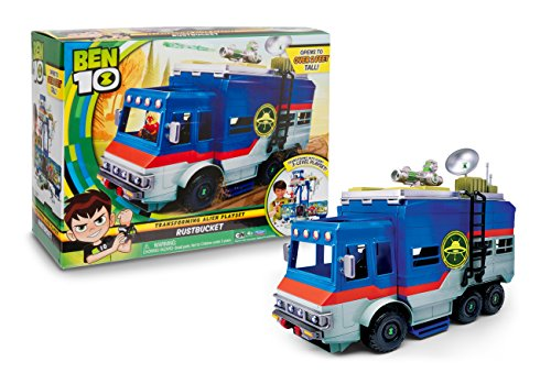 Ben 10-BEN03 Rustbucket vehicle playset, (Giochi Preziosi BEN03000)