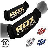 RDX Boxeo Brazo Protector Codo Antebrazo Protecciones Coderas Kickboxing Sleeve (CE Certificado Aprobado por SATRA)