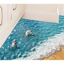 Charming 3D Delphin Ozean Wandtattoo Vinyl Wandaufkleber Für Kinderzimmer Babyzimmer Badezimmer  Wandsticker Wanddecko