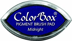 ColorBox Pigment Cats Eye Ink Pad-Midnight