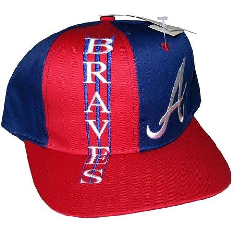 Drew Pearson-Berretto Snapback, stile Vintage, motivo numeri Cappello degli Atlanta Braves