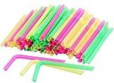 HOKIPO® Drinking Straws for THICK Sha...