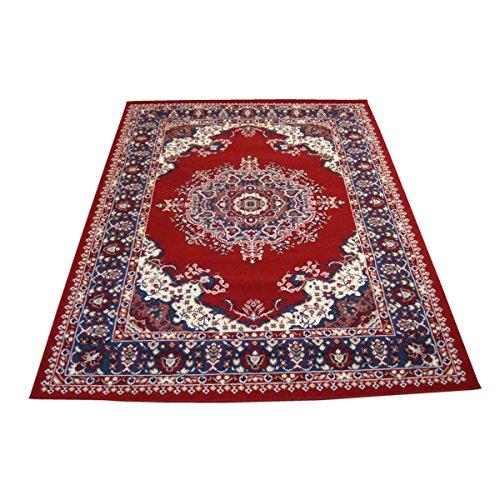 Webtappeti tappeto orientale tappeto classico persian 4480-rosso x22 cm.140x200
