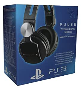 sony pulse wireless stereo headset ps3 pc. Black Bedroom Furniture Sets. Home Design Ideas