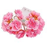 Unbekannt 20 gefuehrten 78inch Akku Betrieben Hochzeit Blumen String Lampe Lichterkette DIY
