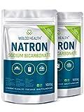 Natron Pulver Lebensmittelqualität im wiederverschließbarer Beutel - 2kg reines Natriumbicarbonat...