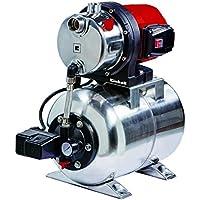 Einhell GC-WW 1250 NN - Grupo de presión con Hidrobox, volumen 20 l, capacidad 5000 l/h, 3 bar, 1200 W, 220-240 V, color rojo y negro