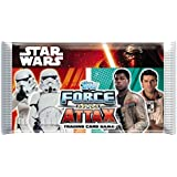 Topps Star Wars Force Attax Cards - Single Booster Pack (8 Cards)