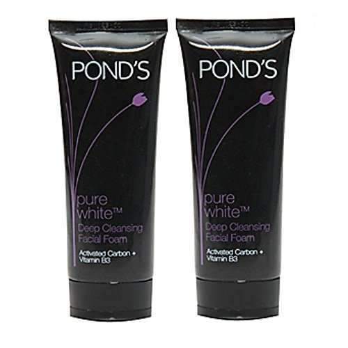 ponds-pure-white-deep-cleansing-facial-foam-pack-of-2-100-g