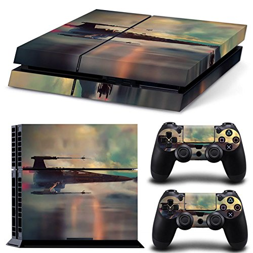 GameCheers PS4 Console and DualShock 4 Controller Skin Autocollant Set -Star Warrior - PlayStation 4 Vinyl