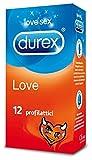 Durex Love Preservativi, 12 Pezzi