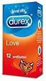 Durex Love Preservativi, 12 Pezzi - Durex - amazon.it