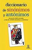 Diccionario de sinónimos y antónimos (Diccionario Espasa)