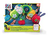 Joy Toy 556170 - Kleine Raupe Nimmersatt Activity Raupe mit Musik und Sound 30 x 9 x 24 cm