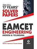 17 Years' 2000-2016 Solved Papers EAMCET Engineering Andhra Pradesh & Telangana